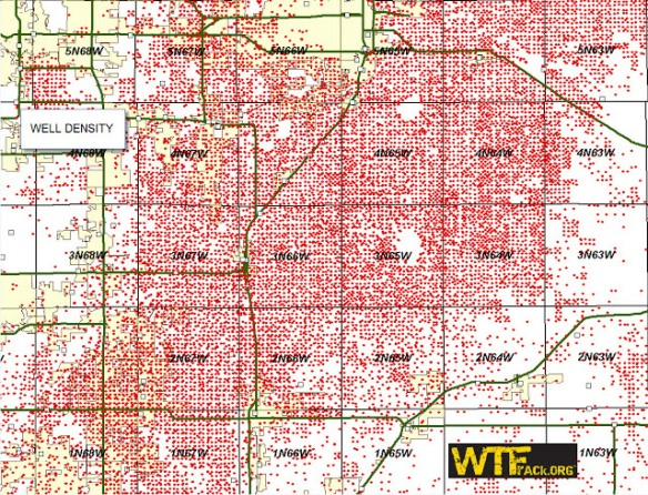 18009 gas wells in Weld County Colorado2
